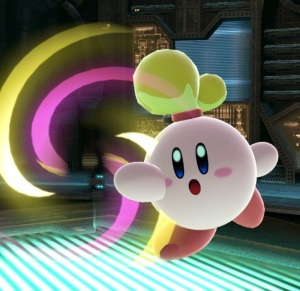 Kirby as Isabelle super Smash Bros ultimate Nintendo Switch animal crossing