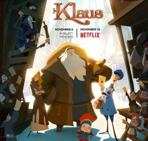 Klaus movie poster Netflix
