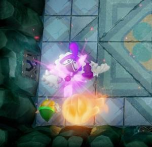 Genie defeated the Legend of Zelda Link's Awakening Nintendo Switch Remake