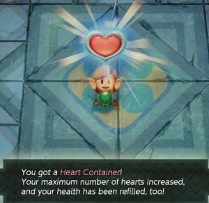 Heart Container Genie the Legend of Zelda Link's Awakening Nintendo Switch Remake