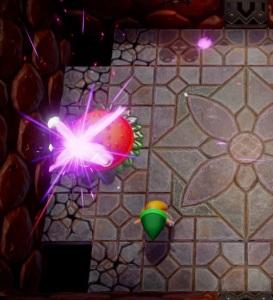Moldorm defeated the Legend of Zelda Link's Awakening Nintendo Switch