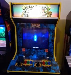 Marvel super heroes arcade cabinet machine