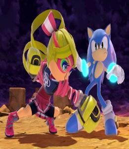 Ribbon girl costume Mii Brawler super Smash Bros ultimate Nintendo Switch