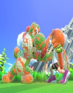 Yoshi costume Mii Brawler super Smash Bros ultimate Nintendo Switch