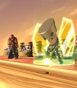 Terry vs Mii Gunner super Smash Bros ultimate Nintendo Switch
