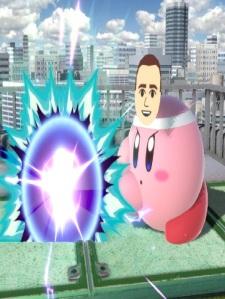 Kirby Mii Gunner super Smash Bros ultimate Nintendo Switch