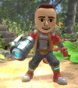 Mii Gunner super Smash Bros ultimate Nintendo Switch