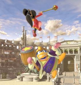 Ashley costume Mii Swordfighter super Smash Bros ultimate Nintendo Switch