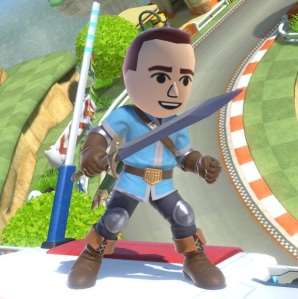 Mii Swordfighter super Smash Bros ultimate Nintendo Switch