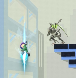 Ridley vs Mii Swordfighter super Smash Bros ultimate Nintendo Switch