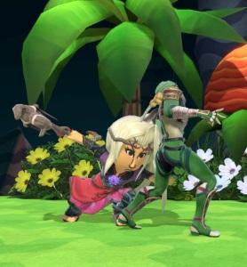 Sheik vs Mii Swordfighter super Smash Bros ultimate Nintendo Switch