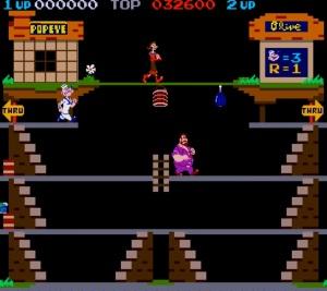 Nintendo Popeye game arcade original
