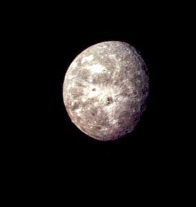 Oberon Moon of Uranus