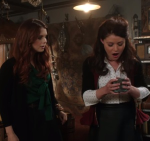 Ariel and Belle once upon a time ABC JoAnna Garcia