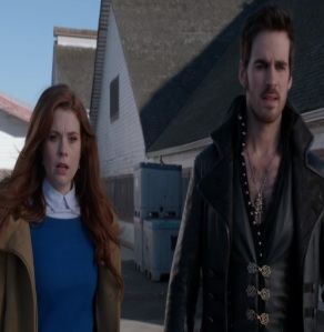 Ariel and captain hook once upon a time ABC JoAnna Garcia