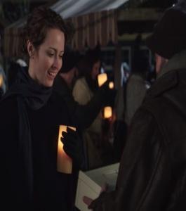 Nova as a nun with Grumpy Leroy once upon a time ABC