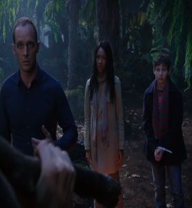 Greg Mendell and Tamara take Henry mills to Neverland Once upon a time Ethan Embry