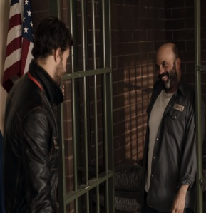 Shrieff Graham takes Grumpy Leroy out of jail once upon a time ABC