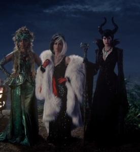 Ursula cruella de vil Maleficent once upon a time ABC