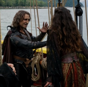 The Dark One kills Milah once upon a time ABC Rachel Shelley