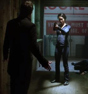 Tamara shoots Neal Cassidy Once upon a time Sonequa Martin-Green