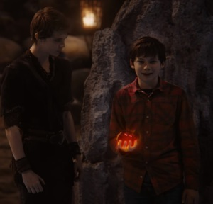Henry mills gives  Peter Pan his heart once upon a time ABC Robbie Kay