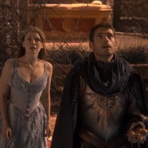 Princess Aurora and prince Philip once upon a time ABC Sarah Bolger