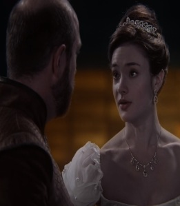 Young Queen Eva once upon a time