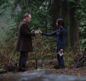 Tamara and Greg Mendell Once upon a time Sonequa Martin-Green