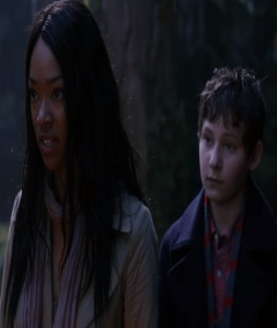 Tamara and Henry mills in Neverland Once upon a time Sonequa Martin-Green