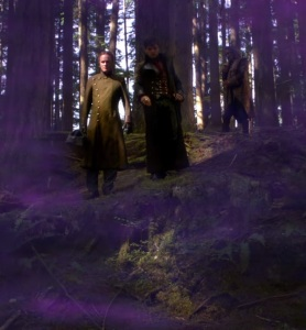 Jefferson Victor Frankenstein and Rumplestiltskin once upon a time ABC
