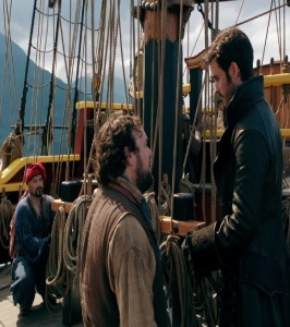William Smee meets captain hook once upon a time ABC Chris Gauthier