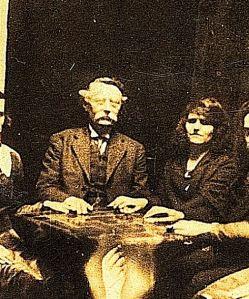 Ouija board players