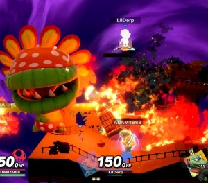 Petey Piranha final Smash Piranha plant super Smash Bros ultimate Nintendo Switch