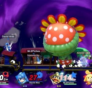 Final Smash Piranha plant super Smash Bros ultimate Nintendo Switch