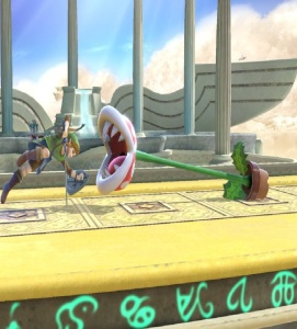 Piranha plant vs Link super Smash Bros ultimate Nintendo Switch