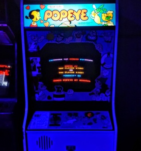 Popeye Nintendo arcade cabinet machine