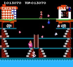 Popeye Nintendo nes version