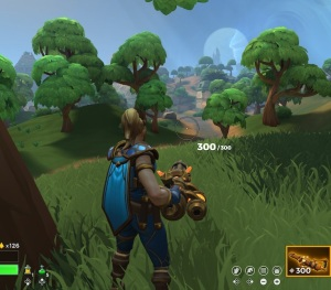 Wizard with Gatling gun Realm Royale Nintendo Switch pc Xbox one PS4
