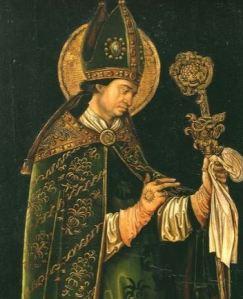 Saint valentine artwork Catholic priest