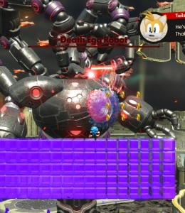 Death egg boss robot sonic forces Nintendo Switch Xbox One PS4