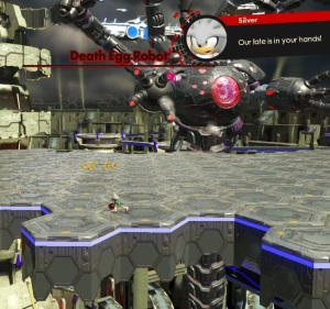 Recruit vs Death egg robot sonic forces Nintendo Switch Xbox One PS4