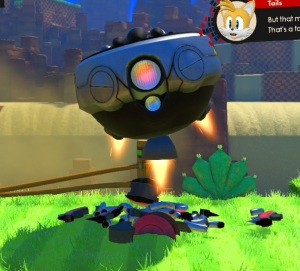 Eggman egg dragoon destroyed sonic forces Nintendo Switch Xbox One PS4 Sega