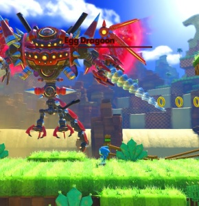 Classic Sonic vs Eggman egg dragoon sonic forces Nintendo Switch Xbox One PS4 Sega