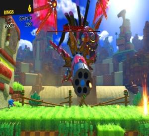 Eggman egg dragoon turret sonic forces Nintendo Switch Xbox One PS4 Sega