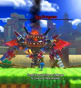 Eggman egg dragoon broken sonic forces Nintendo Switch Xbox One PS4 Sega