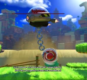 Eggman egg dragoon boss battle sonic forces Nintendo Switch Xbox One PS4 Sega