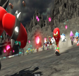 Knuckles vs Infinite sonic forces Nintendo Switch Xbox One PS4