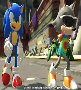 Sonic and hero vs Infinite sonic forces Nintendo Switch Xbox One PS4