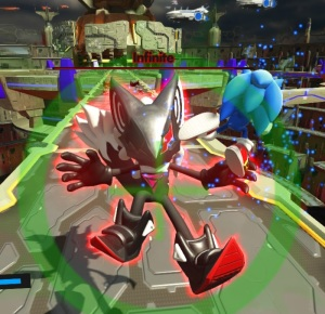 Infinite final boss battle sonic forces Nintendo Switch Xbox One PS4